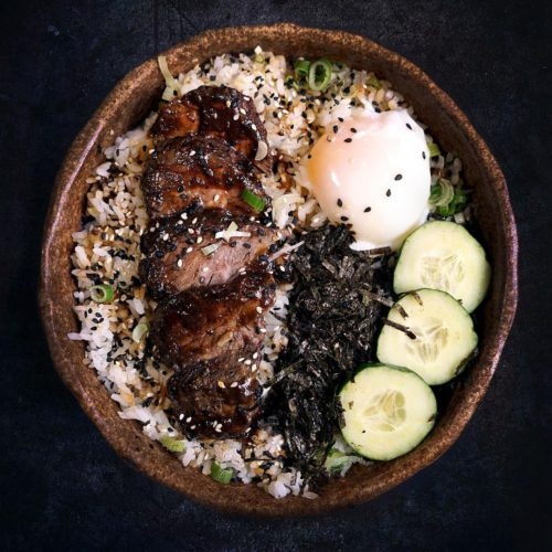 Wagyu Beef Donburi from Fat Sumo, delivered islandwide in Singapore powered by Oddle.