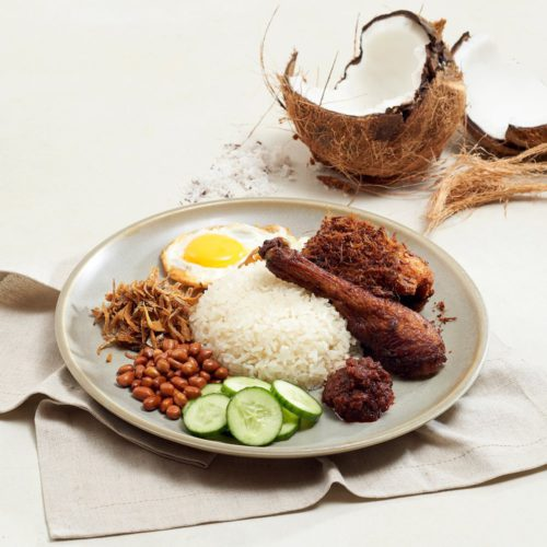 The Coconut Club's Signature French Poulet Leg Set, delivered islandwide in Singapore, powered by Oddle. For National Day food delivery.