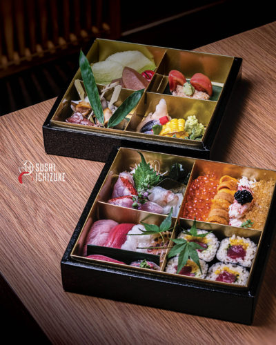Take Home Edo-Style Omakse by Sushi Ichizuke, delivered islandwide in Singapore powered by Oddle. For omakase delivery Singapore.