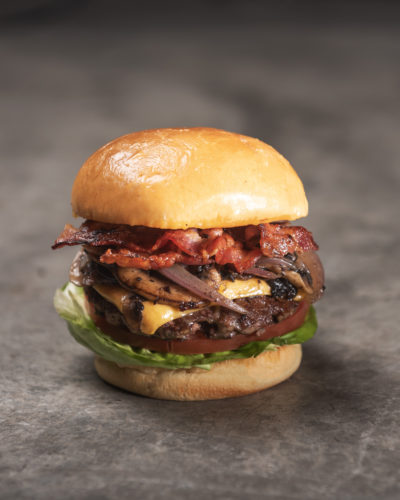 Omakase Burger, Ultimate Cheeseburger, delivered islandwide in Singapore, powered by Oddle.